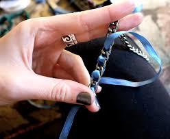 diy hand bracelet images Diy ribbon chain bracelet pumps iron jpg