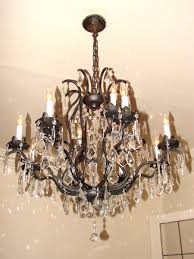 hampton bay crystal chandelier chandeliers design awesome oil rubbed bronze chandelier lighting