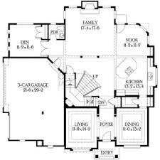 size of a 3 car garage best plan double garage gallery 2 car plans 3 modern house with