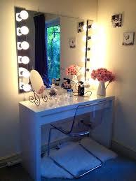 Cute Vanitys Vanities Vanity Mirror With Light Bulbs Around It Light Bulb