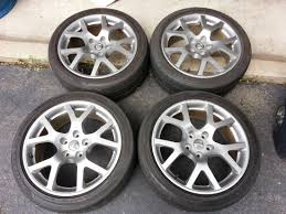 nissan altima lug pattern f s oem 2005 altima se r wheels nissan forums nissan forum