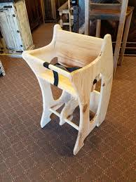 high chair desk rocking horse 3 in 1 amish by texashardwoods