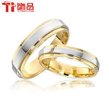 wedding rings couple images Super deal size 3 14 titanium steel womanand man 39 s wedding rings jpg
