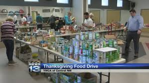 ymca donates thanksgiving food boxes to local families krqe news 13