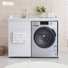 100cm stainless steel laundry room cabinets stone top jolong