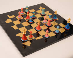 ancient chess set art chess sophie matisse