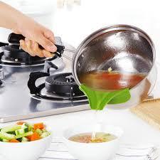 entonnoir cuisine la cuisson vers le bas soupe entonnoir outils casseroles étanche