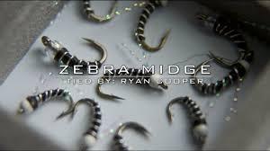 zebra midge pattern zebra midge tying a better midge youtube