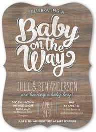 baby boy baby shower invitations baby boy on the way 5x7 greeting card baby shower invitations