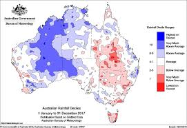 australian bureau meteorology annual climate statement 2017