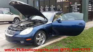 toronto lexus parts lexus sc 430 2002 car for parts youtube