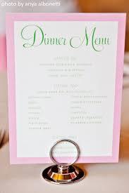 Buffet Menu For Wedding by Our Wedding Reception