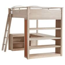 Sleep Study Loft PBteen - Study bunk bed