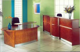 Small White Reception Desk by Laser Traditional Reception Desk