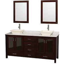 Vanity With Carrera Marble Top Wyndham Collection Wcv01572escwd28bn Lucy 72 Double Bathroom