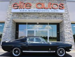 Mustang 1967 Black 1967 Ford Mustang Shelby Gt500 1 Miles Black Coupe V8 Manual For