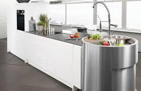 meuble cuisine arrondi meuble cuisine avec evier integre maison design bahbe com