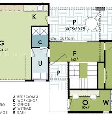 Ultra Modern House Floor Plans Ultra Modern Live Work House Plan 61custom Contemporary
