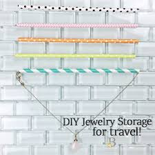 diy jewelry storage tips blossom to be fit so easy and functional