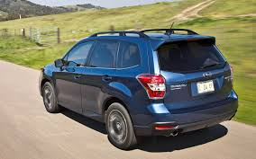 subaru forester 2017 blue 2014 subaru forester 2 5i limited xt first test truck trend