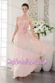pretty graduation dresses sweetheart pink graduation dresses for 8th grade with flowers