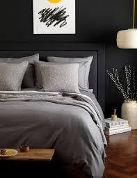 Denim Duvet Cover King Dark Grey Cotton Duvet Cover Secret Linen Store