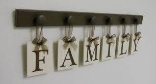 ideas family wall hanging sign wood tree birthdays