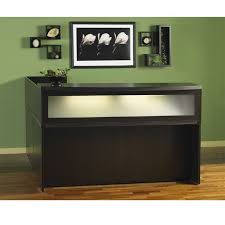 Small Reception Desk Ideas 1000 Mayline Aberdeen Reception Desk L Shaped Without Pedestal