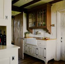 Wine Storage Kitchen Cabinet by Distressing Wood For A Rustic Home Bar With A Wine Storage And The
