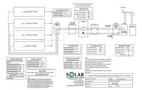 electrical schematic of 7 2 kwh grid tie solar system a solar