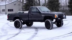 jeep comanche 1986 pictures information jeep comanche raw snow drifting youtube