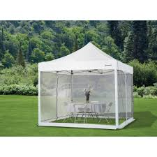 Outdoor Mesh Curtains Strongway Pop Up Outdoor Canopy Tent Mesh Curtain U2014 10ft X 10ft