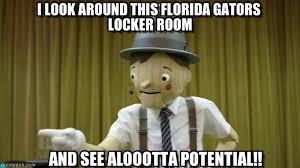 Florida Gator Memes - pinocchio talking to the florida gators team in on memegen