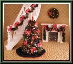 miniature dollhouse christmas tree 8 1 2 tall 400 00