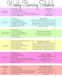 printable house cleaning schedule cleaning schedule app household cleaning checklist cleaning business