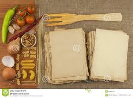 vieux livre de cuisine vieux livre des recettes pour des pâtes livre de recette pâtes de