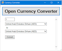 currency converter python currency converter in windows form application using webbrowser