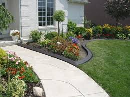 rock flower bed borders for your stunning garden a neat edge