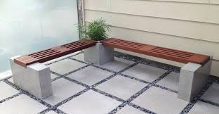 concrete bench diy seat u2014 optimizing home decor ideas kitchen