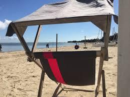 cabine de plage bois villa au coeur du bois de la chaise plage à 50 mètres cabane