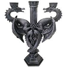 dragons altar candle holder gothic dragon candelabra 20 99