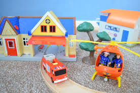fireman sam fly pontypandy fire station