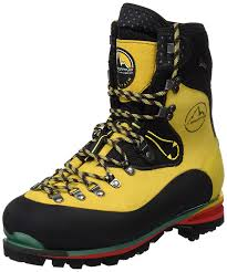 yellow boots s shoes la sportiva nepal evo gtx mountaineering boots la sportiva nepal
