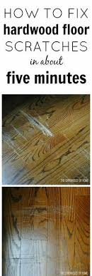 Floor Scratch Repair Removing Scratches From A Wood Floor One Part Vinegar Three