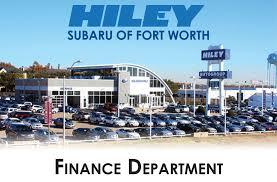 auto financing u0026 subaru leasing hiley subaru of fort worth