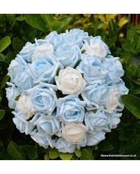 Wedding Flowers Blue And White Luxury Bridal Flower Package Wedding Flower Collection Of Roses