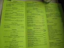 dominga u0027s south concord street menu picture of dominga u0027s