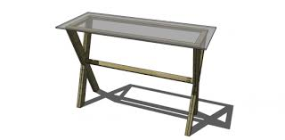 Diy Console Table Plans Free Diy Furniture Plans To Build A Pottery Barn Inspired Ava