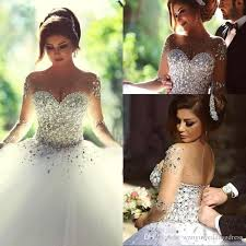bling wedding dresses discount 2017 bling wedding dresses luxury bridal gowns