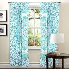 Bohemian Drapes Mandala Hippie Tapestry Curtains U0026 Window Door Drapes Valances